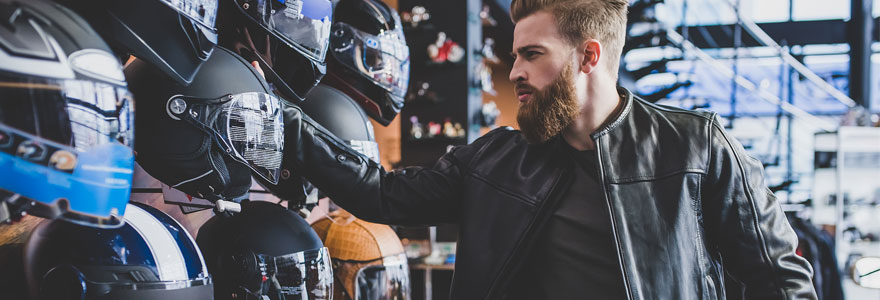 Achat de matériel de motocross